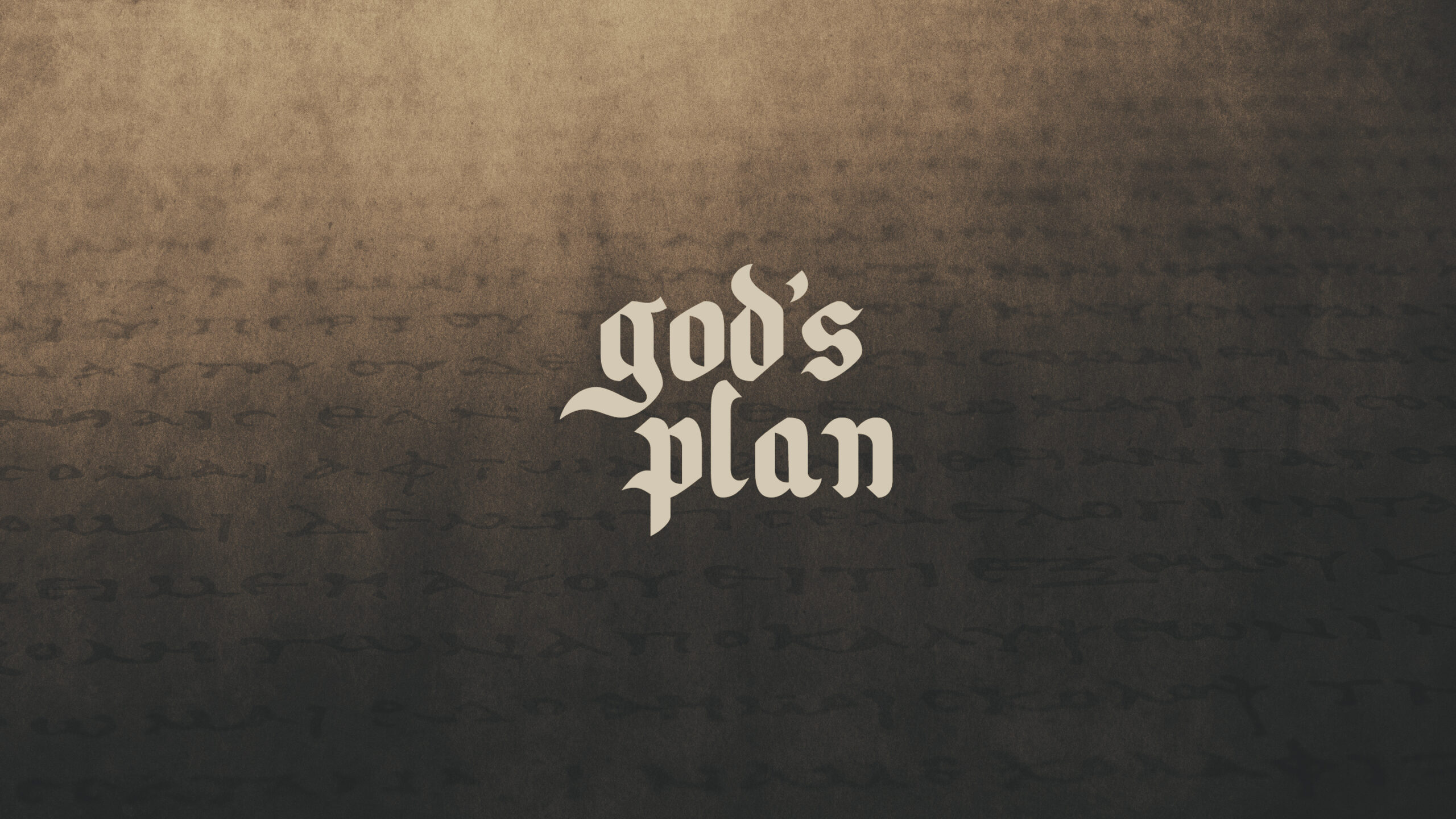 God's Plan to Fill Us (THRIVE)